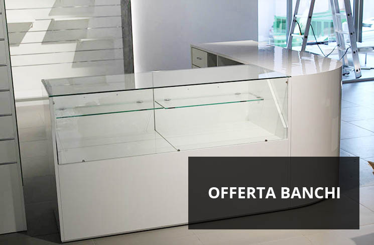 Bancone In Legno Per Negozio : Arredamenti per negozi scaffali per negozi pannelli dogati