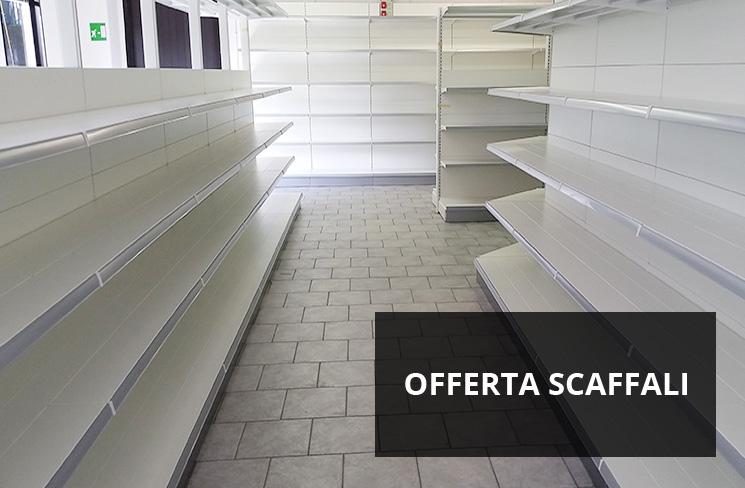 Arredamenti per negozi scaffali per negozi pannelli for Negozi arredamento economici