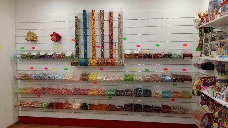 Arredamento negozio caramelle usato