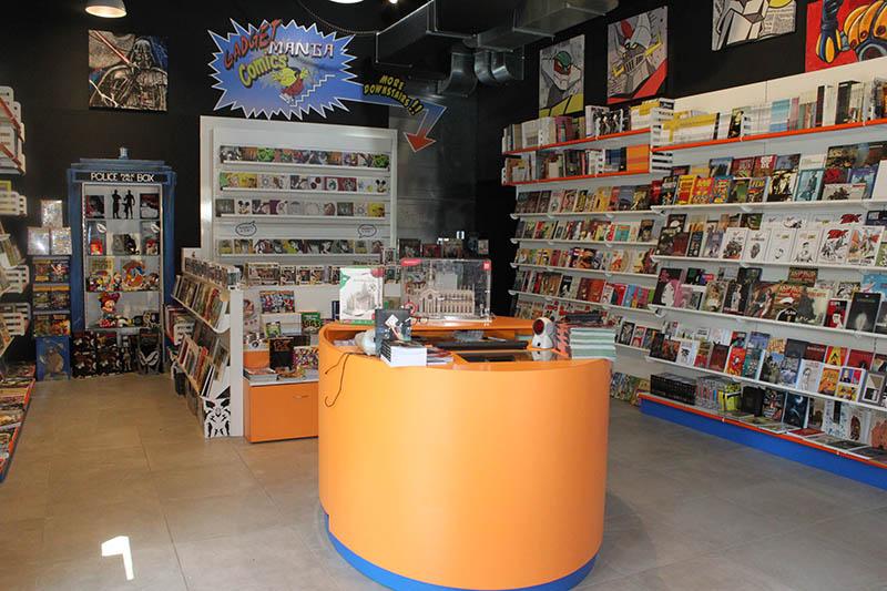 Arredamento per negozi di fumetti for Negozi arredamento pavia