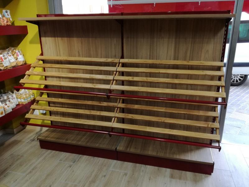 Arredo ortofrutta arredo negozio frutta e verdura for Arredamento ortofrutta in legno