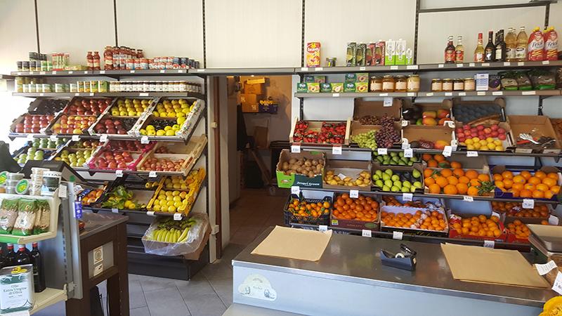 Arredamenti per negozi scaffali per negozi pannelli for Arredamento ortofrutta