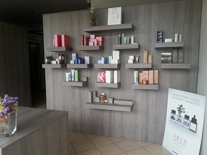 Arredamento centro estetico arredo negozio estetista meda for Ikea arredamento per negozi