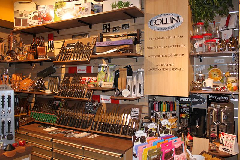 arredamento coltelleria arredo negozio ferramenta