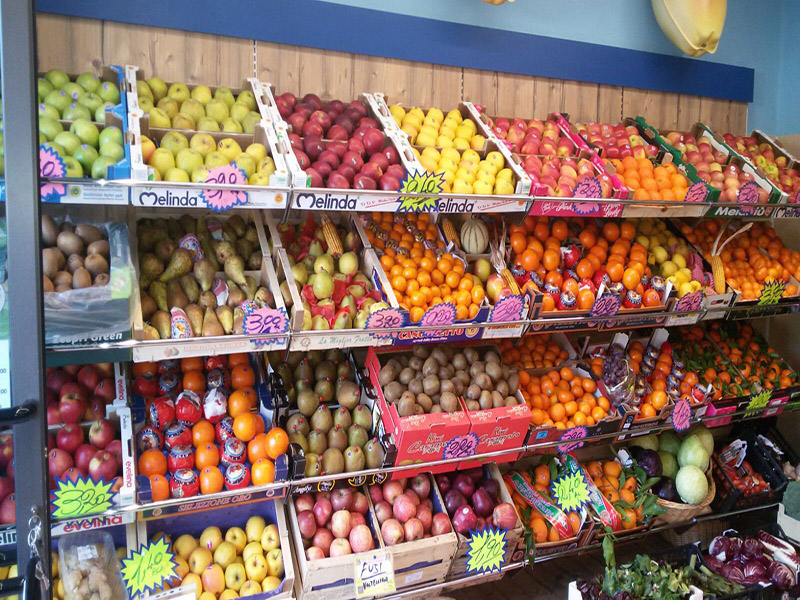 arredamento negozio alimentare, arredo market , arredo food shop - Idee Arredamento Negozio Frutta E Verdura