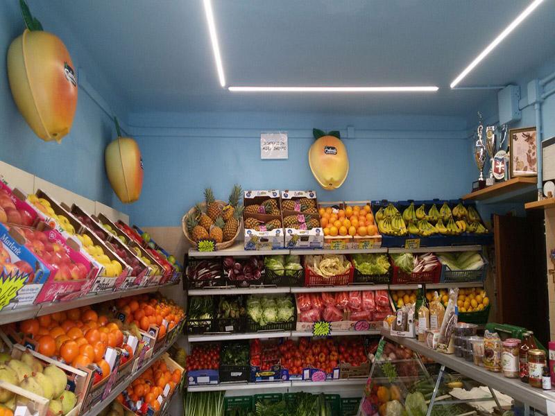 Arredamento ortofrutta como arredo negozio alimentari for Arredamento frutta e verdura