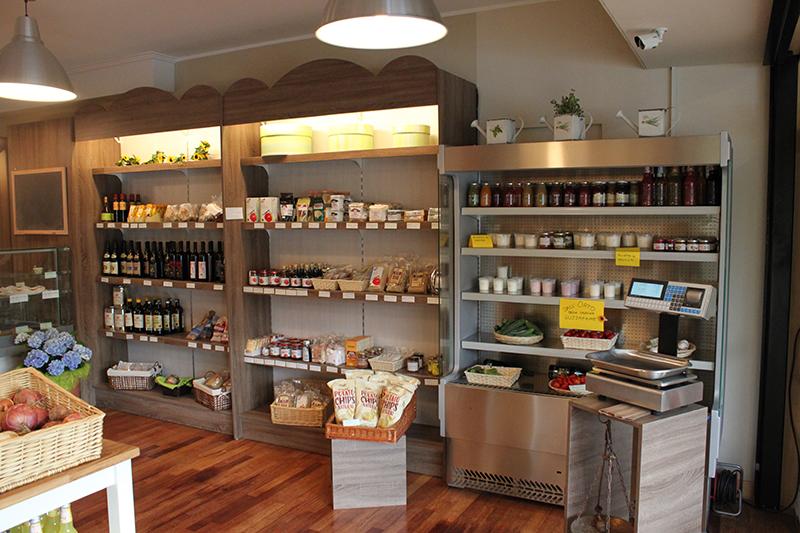 Arredamento negozio alimentare arredo market arredo for Arredamento ortofrutta in legno
