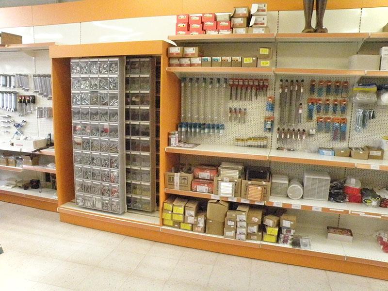 Arredamento ferramenta monza arredo negozio ferramenta for Arredamento ferramenta