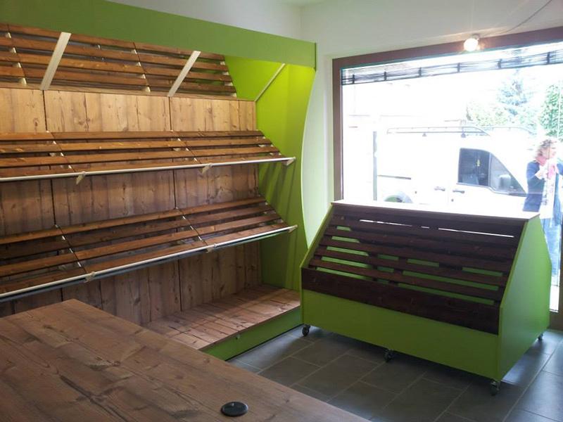Arredamento ortofrutta arredo negozio alimentari ortaggi for Arredamento ortofrutta in legno