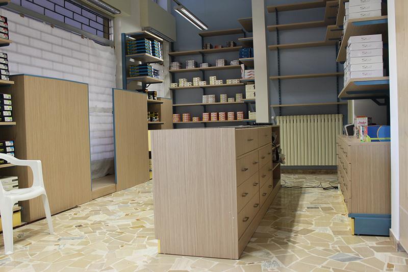 arredamento merceria milano, arredo negozio abbigliamento. - Arredamento Classico Milano