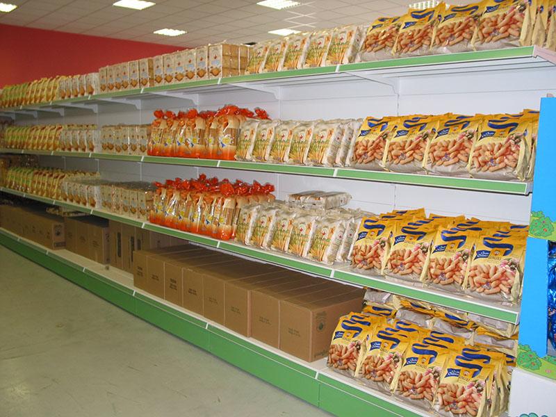 Scaffalature Per Negozi Alimentari.Scaffali Negozio Alimentari Arredamento Negozio Alimentari