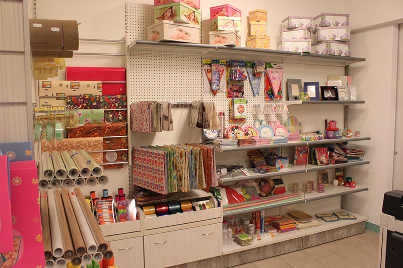 Arredamento cartoleria como arredo negozio cartoleria for Arredamento per cartoleria